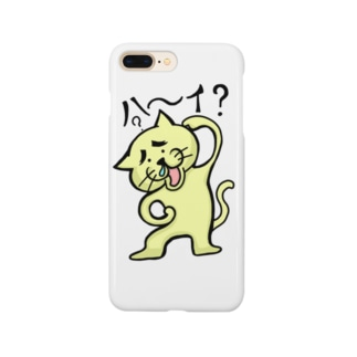 おちょくり猫にゃん Smartphone cases