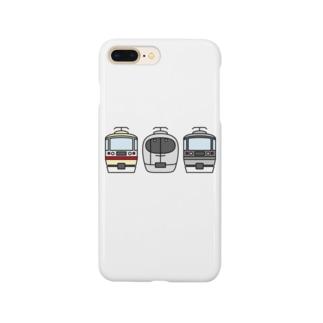 西武線特急3兄弟 Smartphone cases