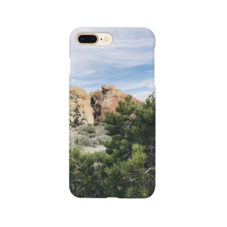 アメリカ!緑と山 Smartphone cases