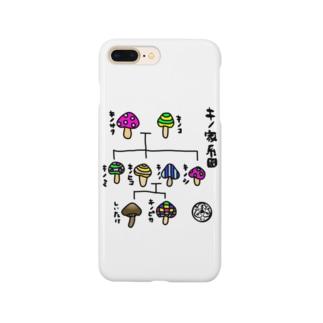 ほぼキノ家系図 Smartphone cases