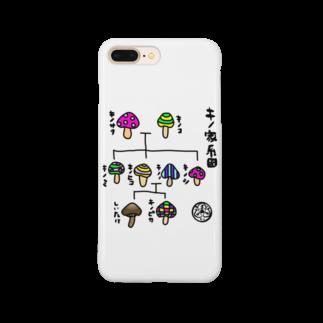 LUVHOLICのほぼキノ家系図 Smartphone cases