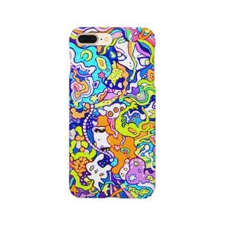海のセンリツ Smartphone cases