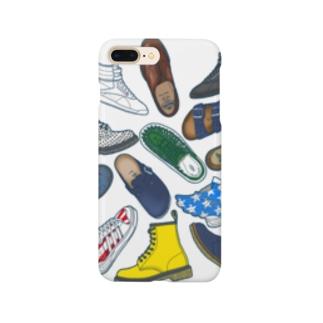 arumikon の 靴 Smartphone cases