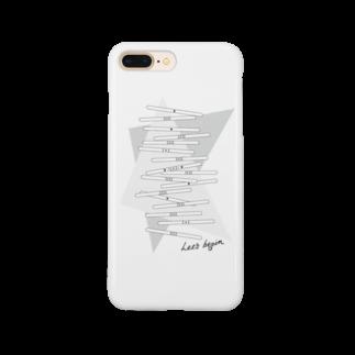 wlmのLET'S STICKS Smartphone cases