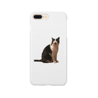 猫あんぐり Smartphone cases