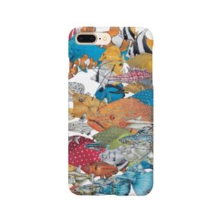『サカナ、微カナ傘』 Smartphone cases