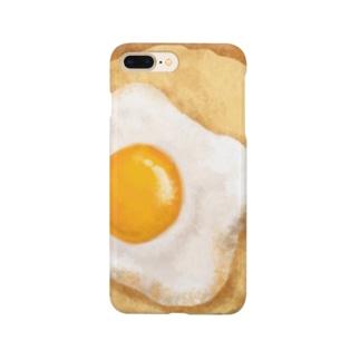 目玉焼きトースト Smartphone cases