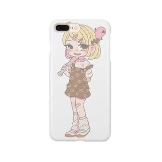 釘バットちゃん Smartphone cases