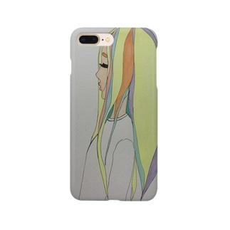 泣き虫女の子 Smartphone cases
