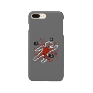 ドット絵・現場検証(血) Smartphone cases