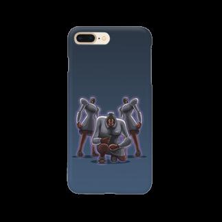 アルバトロスデザインのドット絵・婦長 Smartphone cases
