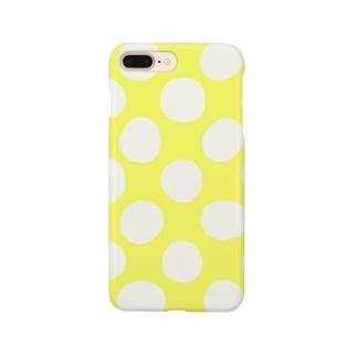 水玉 大柄 Smartphone cases