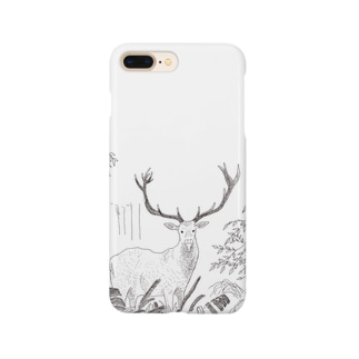 DEER IN A FOREST Smartphone cases