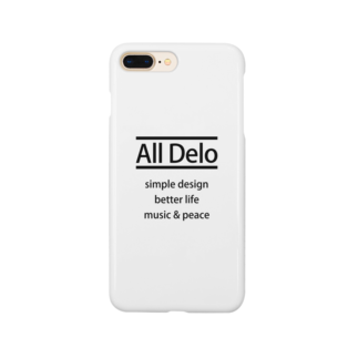 United Sweet Soul MerchのAll Delo - better life Smartphone cases