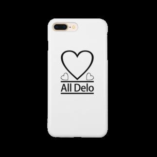 United Sweet Soul MerchのAll Delo - HEART Smartphone cases