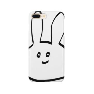 ぽんこつうさぎ Smartphone cases