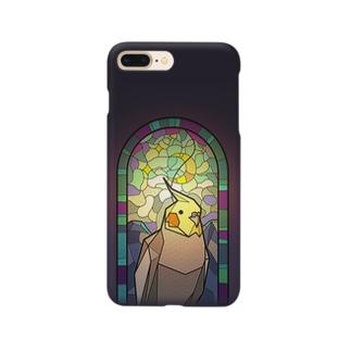 聖パロット教会・オカメインコ Smartphone cases