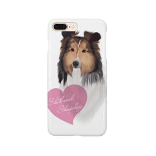 Shetland Sheepdog(シェルティ) Smartphone cases