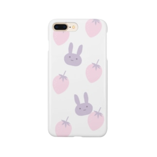 いちごとうさぎ Smartphone cases