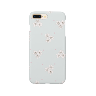kuroki  miyaの小花柄 Smartphone cases