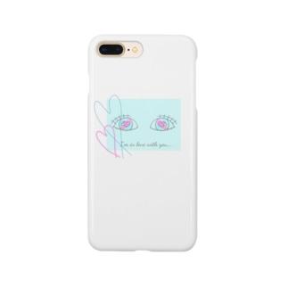 恋する乙目 Smartphone cases