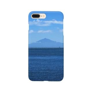 山と湖 Smartphone cases