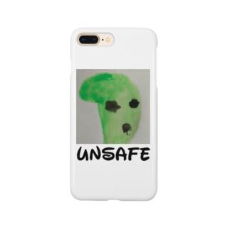 安全じゃない  ノベルティ Smartphone cases