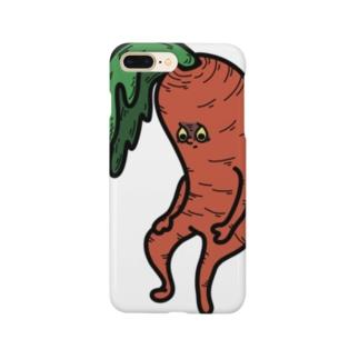 幸先悪しキャロット先生 Smartphone cases