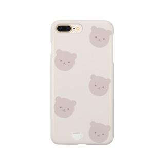くまさんカフェ Smartphone cases