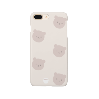 kuroki  miyaのくまさんカフェ Smartphone cases