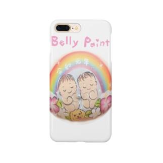双子の赤ちゃん Smartphone cases