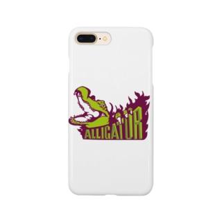 アリゲーター Smartphone cases