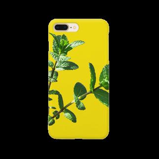 CALAKUEN(SOIL)のmint Smartphone cases