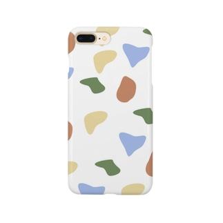 白地にぶちぶちBuchiBuchi Smartphone cases