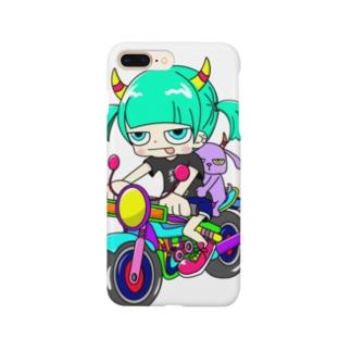補助輪娘 Smartphone cases