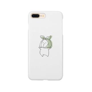 風呂敷うーたん Smartphone cases