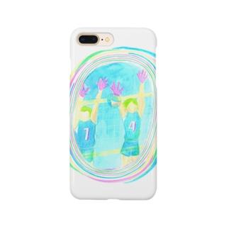 バレーボール部 Smartphone cases
