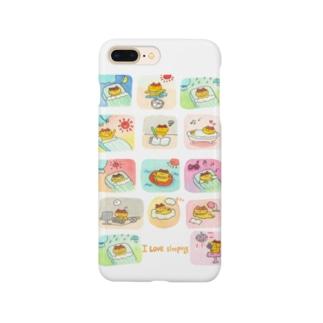 14コマ(ロゴまんなか) Smartphone cases