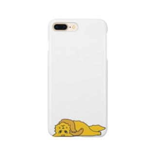 仰臥猫カラー(改) Smartphone cases