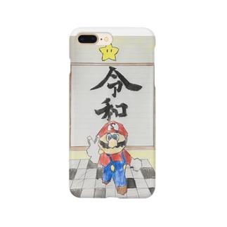 スーパー菅マリオ64令和 Smartphone cases