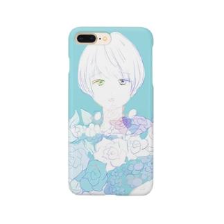 花束 冬 Smartphone cases