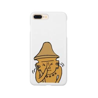 く、く、く、埴輪 Smartphone cases