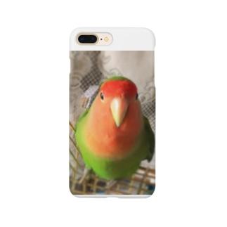 インコ界の用心棒、ジェイド之介 Smartphone cases