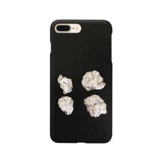 丸めたアルミホイル Smartphone cases