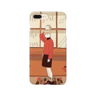 気になるあの子 Smartphone cases