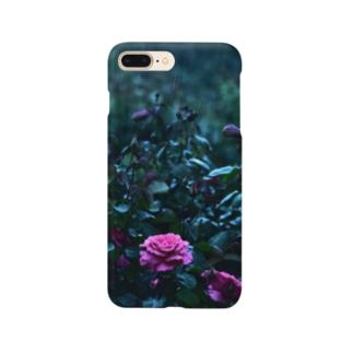雨と薔薇 Smartphone cases
