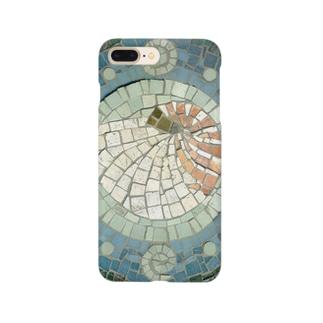 モザイクアート*オウム貝 Smartphone cases