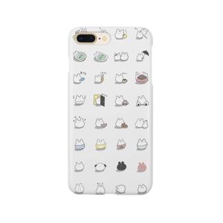 うさぎまみれ Smartphone cases