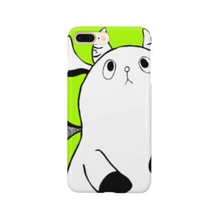 ろんろん!(ライトグリーン) Smartphone cases