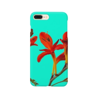 Crocosmia Smartphone cases